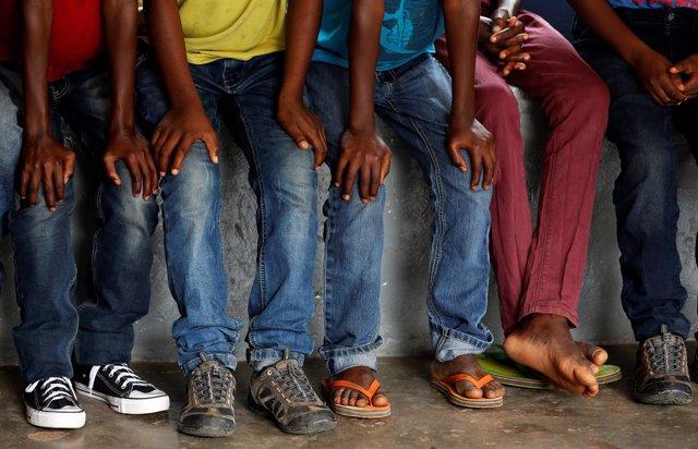 Ex niños-soldado de República Democrática del Congo (RDC)