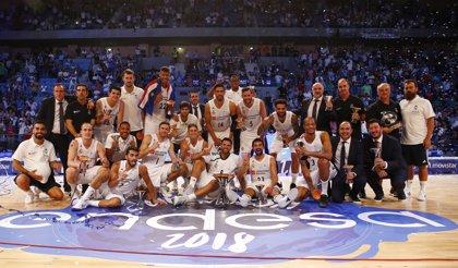 El Real Madrid conquista su quinta Supercopa tras ganar al Baskonia
