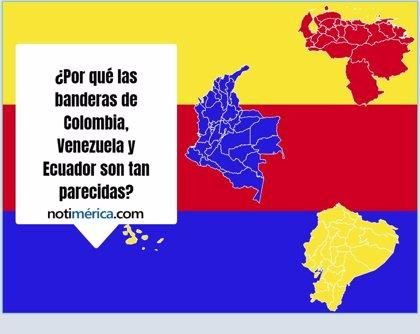 Por Qué Las Banderas De Colombia Venezuela Y Ecuador Son