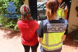 LIBERADAS DIEZ MUJERES PROSTITUIDAS EN MALAGA EN UNA OPERACION CONTRA LA TRATA CON 15 DETENIDOS