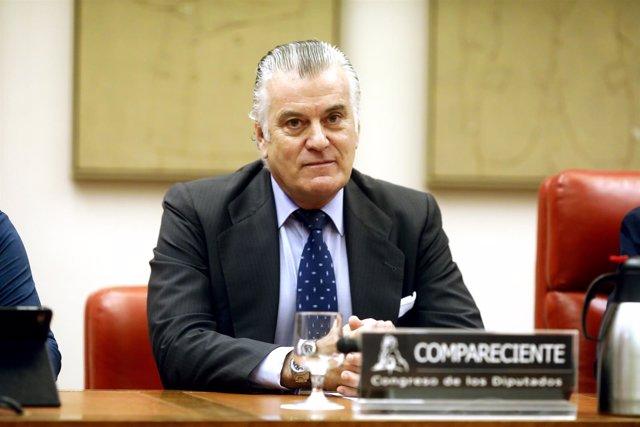 Bárcenas ante la comisión de investigación sobre la supuesta financiación