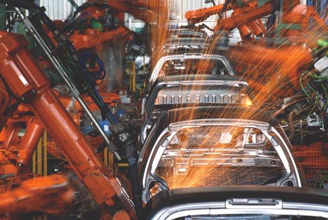 Cadena de montaje de vehículos