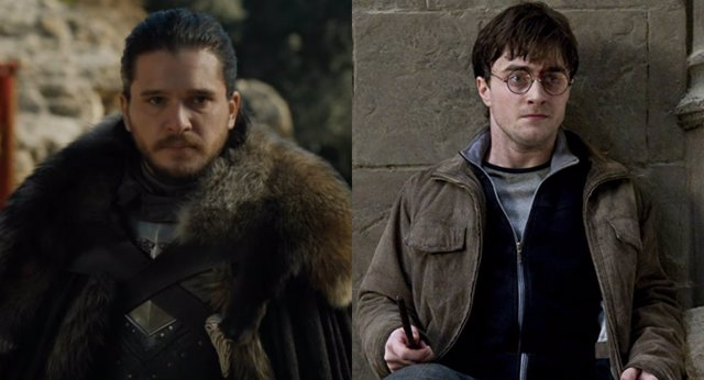 Kit Harrington quiso ser Harry Potter