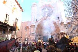 Tarragona viu el dia gran de les festes de Santa Tecla (ACN)