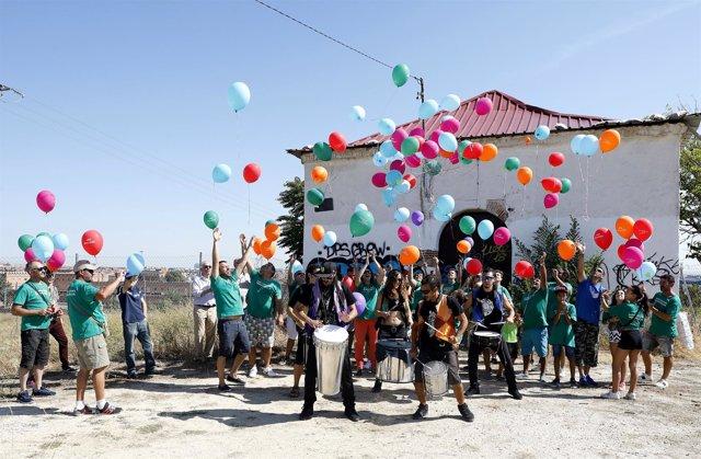 Fiesta para celebrar la aprobación de Madrid Nuevo Norte