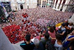 Colau assisteix a la Diada Castellera Històrica de la Mercè a Barcelona (AJUNTAMENT DE BARCELONA)