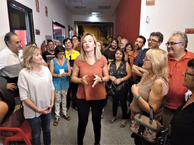 Proceso de primarias del PSOE a la Alcaldía de Zaragoza.