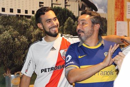 Así se vivió en España el superclásico argentino Boca-River