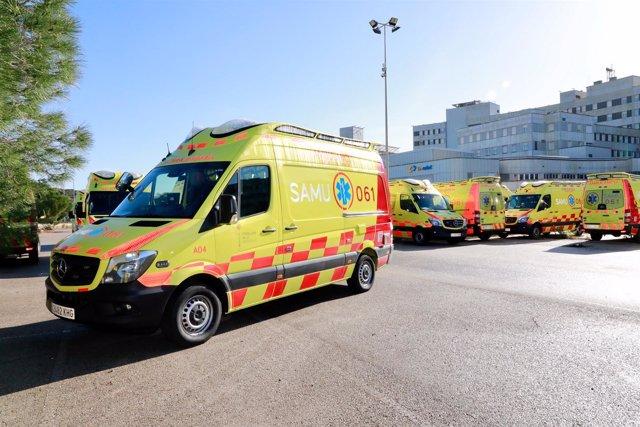 Ambulancias del SAMU 061