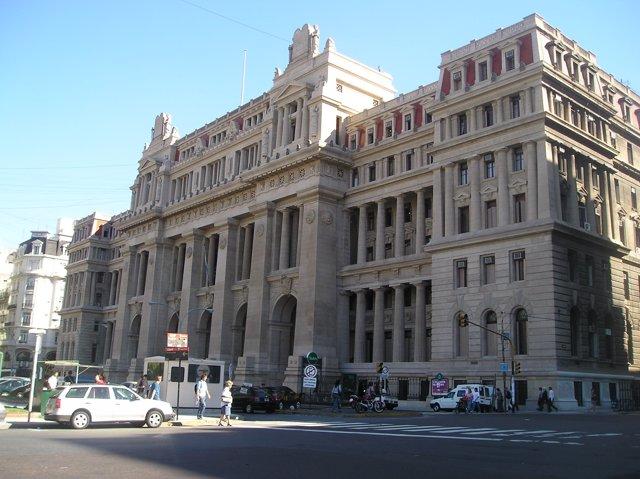 Palacio de Justicia en Buenos Aires, Argentina