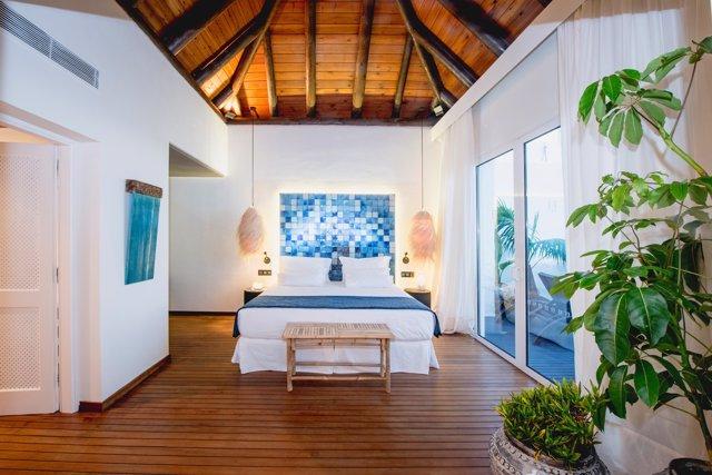 Suite del Hotel Jardín Tropical