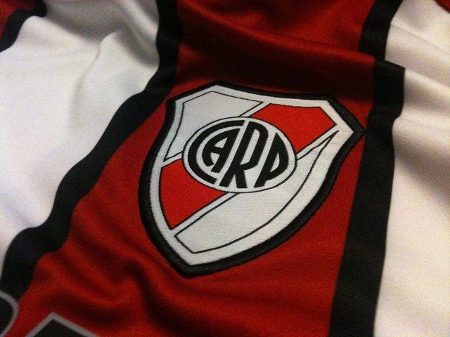 Escudo del River Plate, equipo de fútbol de Argentina