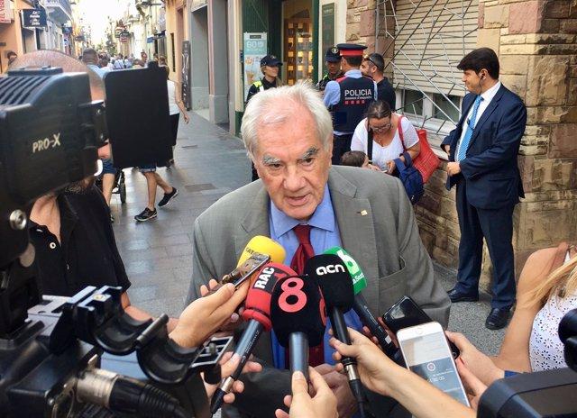 El conseller de Acción Exterior de la Generalitat, Ernest Maragall,