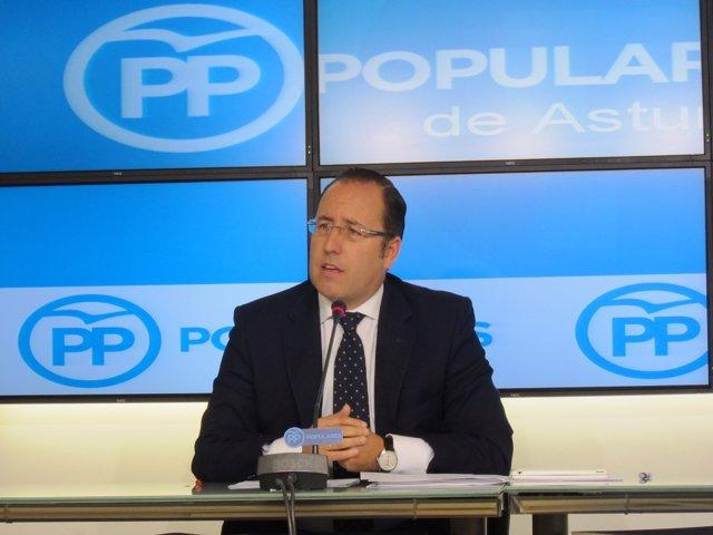 El senador del PP Mario Arias