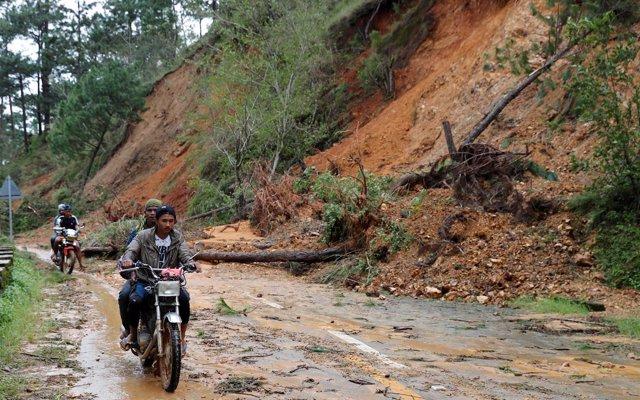 Las ONG piden ayuda para los agricultores filipinos golpeados por el tifón 'Mangkhut'