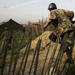 Soldados de Kenia
