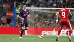 EL FC BARCELONA RECURRE LA ROJA A LENGLET