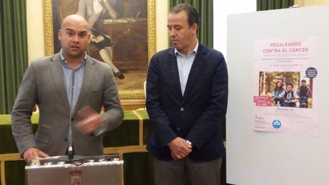 PRESENTACIÓN MARCHA CICLOTURISTA  CONTRA EL CÁNCER