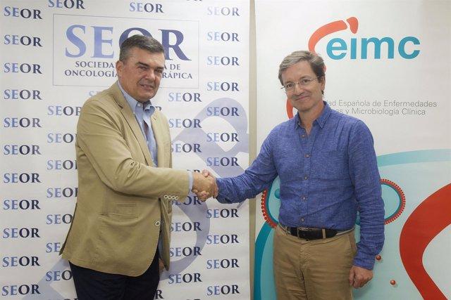 Acuerdo entre SEIMC y SEOR