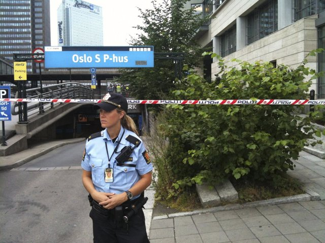 La Policía Noruega Encuentra Una Mochila Sospechosa En El Metro De Oslo