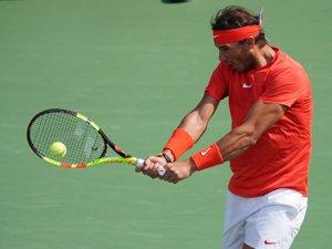 El tennista Rafa Nadal suma una setmana més com a número u del món (REUTERS)