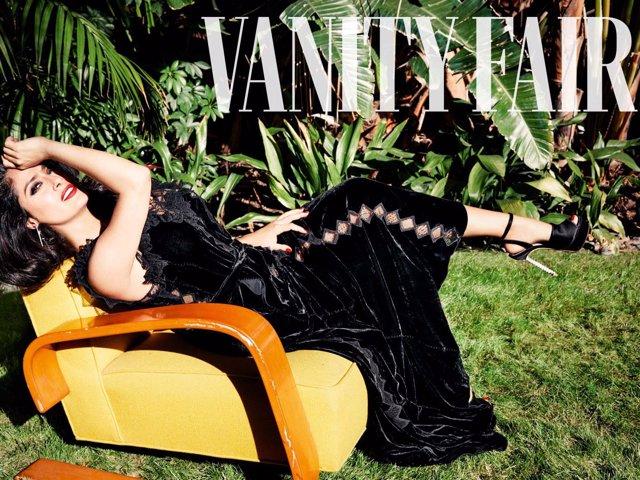 Salma Hayek para Vanity Fair