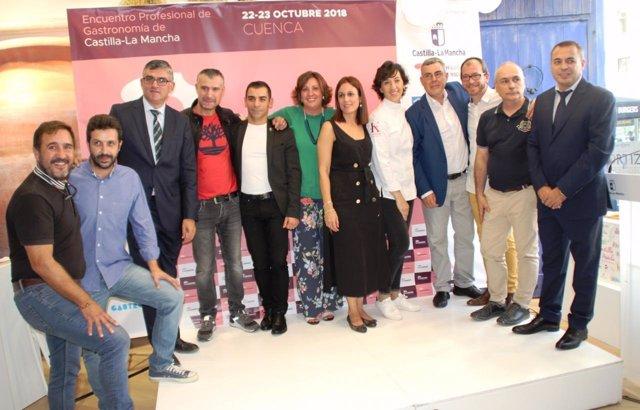 Presentación del I Congreso Culinaria 2018 en octubre en Cuenca
