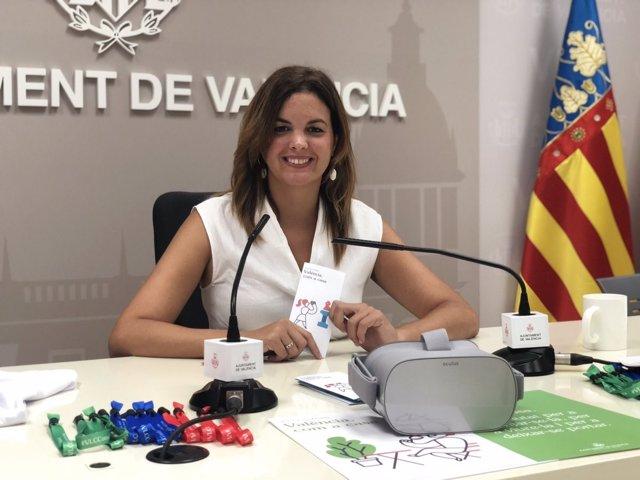 Gómez presenta la campaña 'València com a casa'