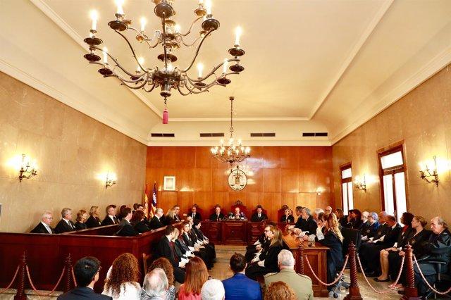 Terrasa (TSJIB) asegura que 'urge atender las necesidades' de los juzgados de violencia sobre la mujer de Palma