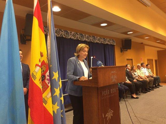 La delegada del Gobierno,Delia Losa