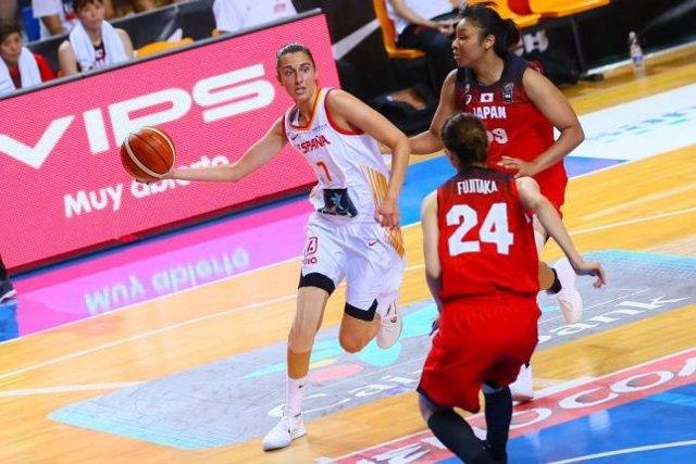 La selección española de baloncesto femenino