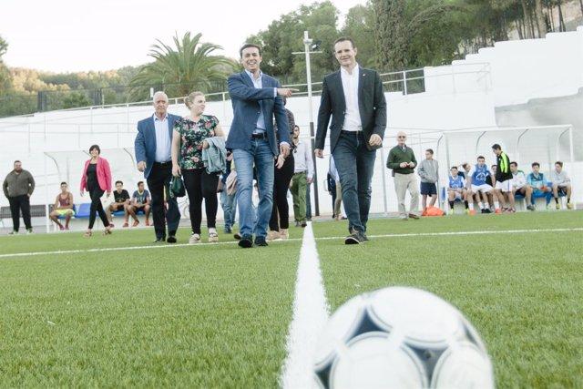 El plan contempla la inversión en infraestructuras deportivas en la provincia.