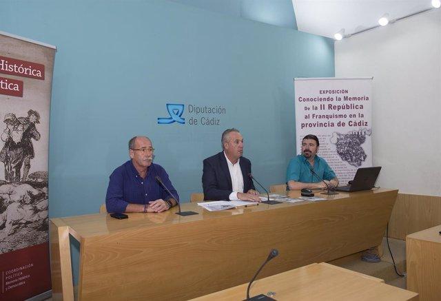 Presentación del Aula de Memoria Histórica de Diputación