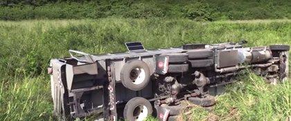 Accidente de autobús deja 36 heridos de gravedad en Pinar del Río (Cuba)