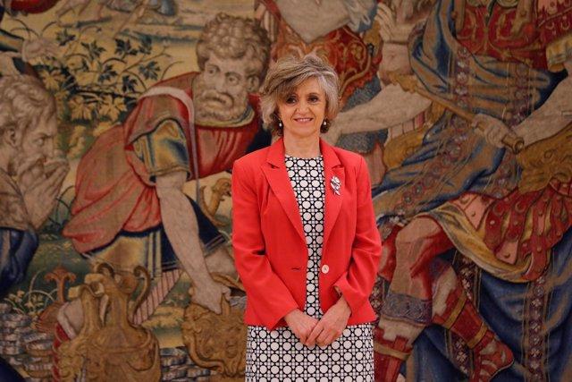 Jura o promesa de la nueva ministra de Sanidad, María Luisa Carcedo, ante el Rey