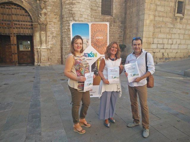 Presentación de la cuarta edición del programa 'Disfruta Jaén'.