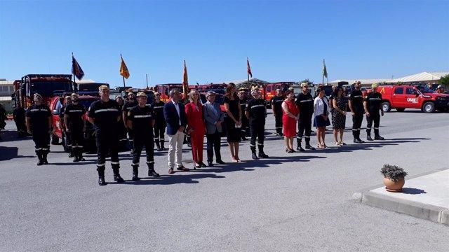 Delegados y subdelegados en la Base Aérea de Morón de la Frontera
