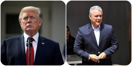 """Trump se ofrece a trabajar con Duque para """"erradicar la producción de coca"""" en Colombia"""