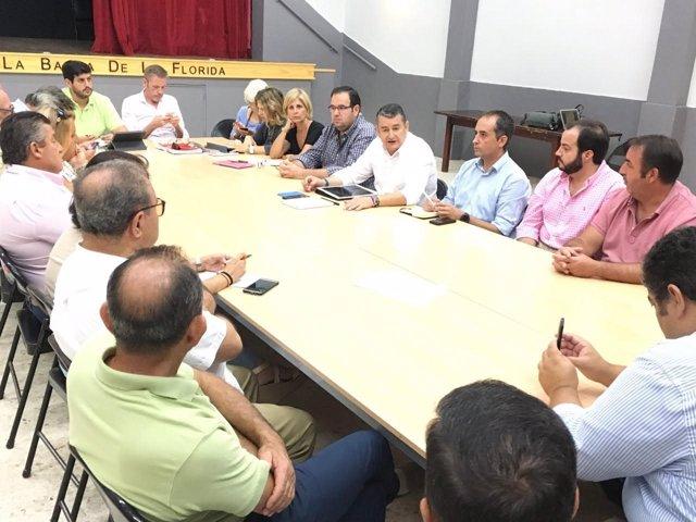Reunión de representates de ELA del PP de Cádiz