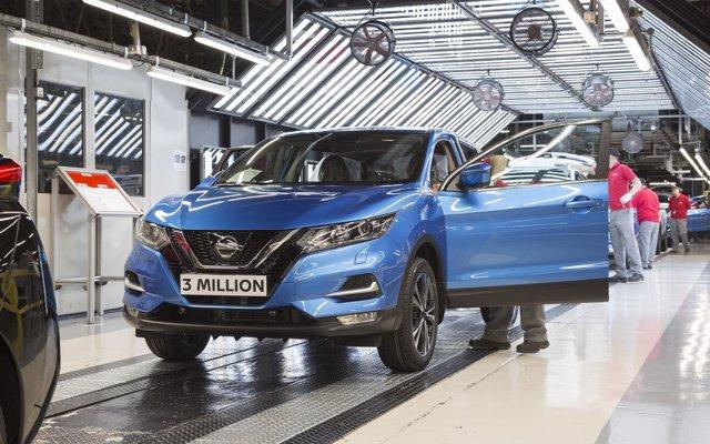 Nissan incrementa un 11% sus ventas en Europa en agosto, con casi 50.000 unidades