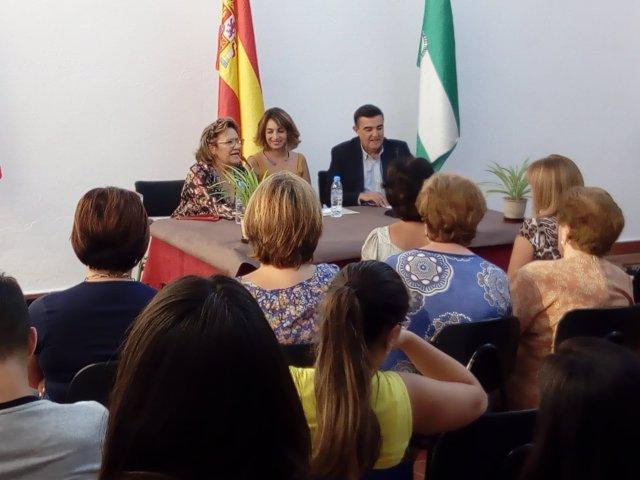 El delegado de Educación en Huelva, Vicente Zarza.