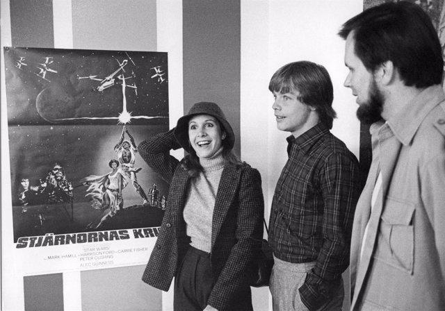 Carrie Fischer , Mark Hamill Y Gary Kurtz