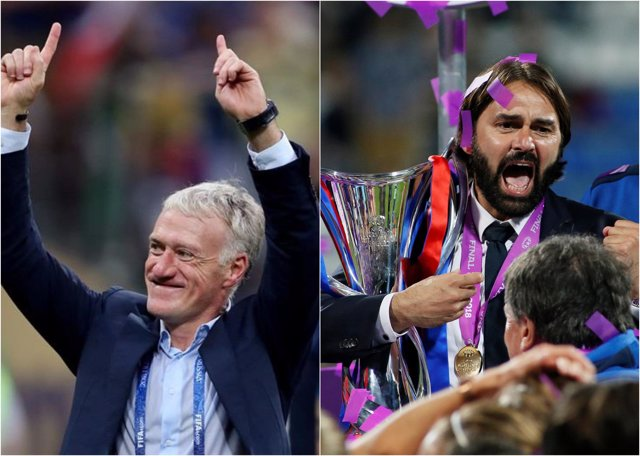 Didier Deschamps Reynald Pedros