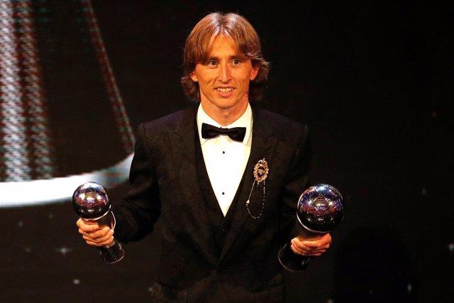 Luka Modric conquista el 'The Best'