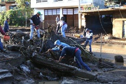 Al menos siete muertos y ocho desaparecidos por las fuertes lluvias en el estado mexicano de Michoacán