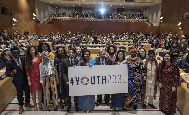 Lanzamiento de la iniciativa Juventud 2030