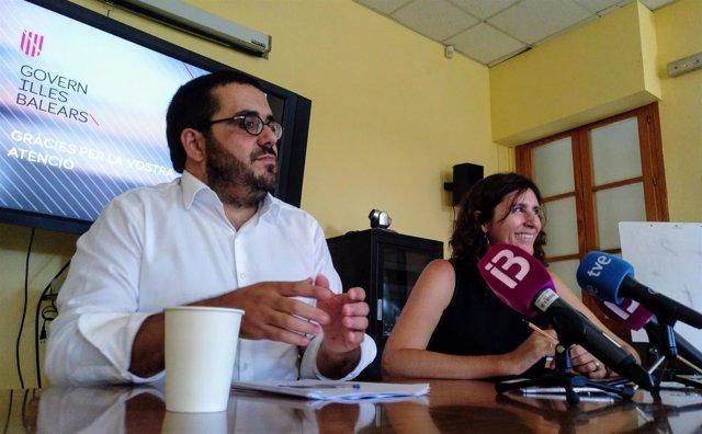Vidal asume su 'parte de responsabilidad' por vertidos en Ses Salines e investigará el origen con el Ayuntamiento