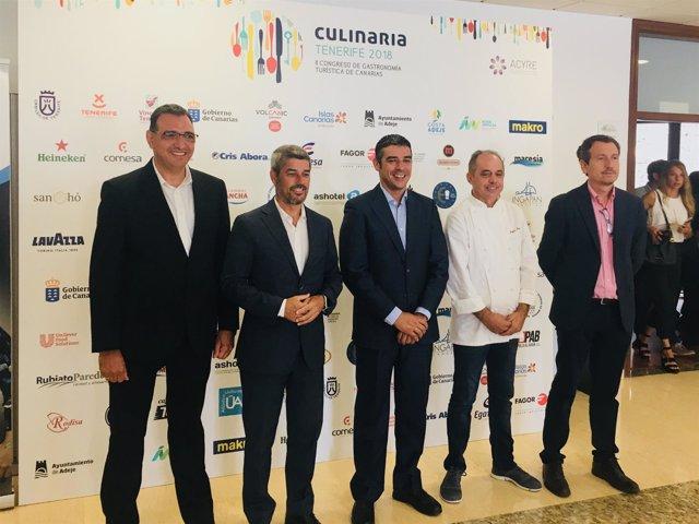 Congreso Culinaria Tenerife 2018