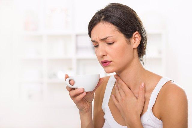 Dolor de garganta, cáncer de tiroides