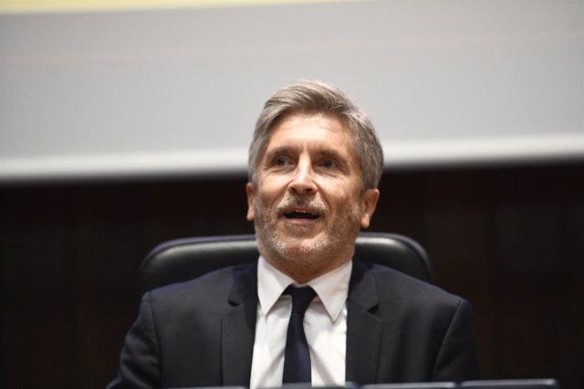 Marlaska elude las preguntas sobre la ministra de justicia Quien es el ministro de interior y justicia